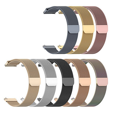 cheap Watch Bands for Huawei-Watch Band for Huawei Watch GT / Huawei Watch 2 / Huawei Watch GT 2e Huawei Milanese Loop Stainless Steel Wrist Strap