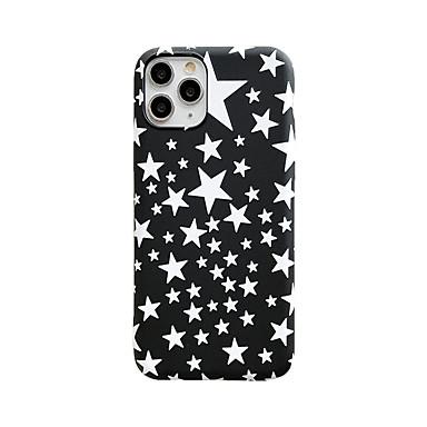 Недорогие Кейсы для iPhone-чехол для apple 7 8 se 7plus 8plus xr xs xsmax x 11 11pro 11promax свечение в темноте матовое рисунок задняя крышка небо звезды тпу