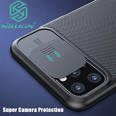 Недорогие Кейсы для iPhone-iphone11pro max nillkin Защитный чехол для объектива камеры 11pro матовый сенсорный жесткий чехол для телефона 7 8 se 2020 защитный чехол