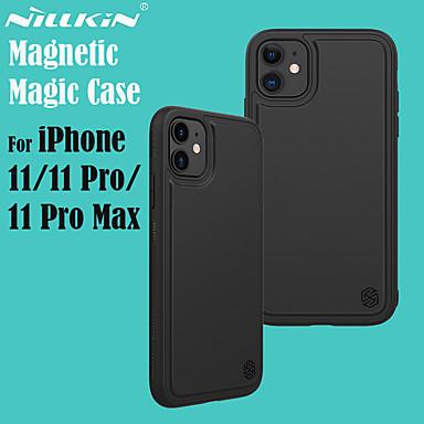 Недорогие Кейсы для iPhone-nillkin iphone11pro max magic pro магнитная задняя крышка поддерживает беспроводную быструю зарядку 11pro кожа чувствовать анти-отпечатков пальцев 11 защитный чехол
