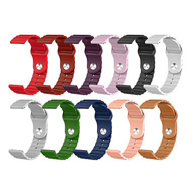 Недорогие Ремешки для часов Huawei-ремешок для часов huawei часы 2 / часы huawei 2 pro / часы huawei gt2 46mm / 42mm / gt 2e / magicwatch 2 силиконовый ремешок для часов huawei sport band 46 мм / 42мм