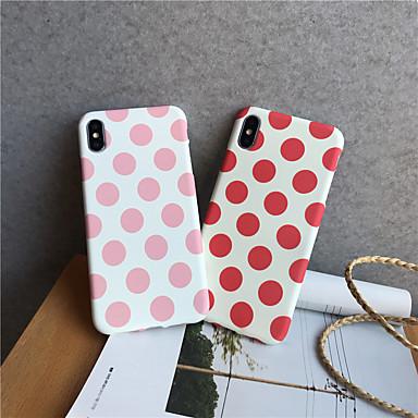 Недорогие Кейсы для iPhone-чехол для apple 7 8 se 7plus 8plus xr xs xsmax x 11 11pro 11promax свечение в темноте матовое точечный рисунок задняя крышка геометрический рисунок тпу