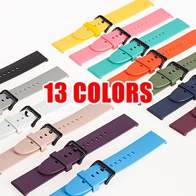 Недорогие Аксессуары для смарт-часов-Ремешок для часов для Сяоми смотреть цвет Xiaomi Современная застежка силиконовый Повязка на запястье