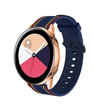 Недорогие Ремешки для часов Huawei-ремешок для часов для huawei watch gt 2e / huawei watch gt2 46 мм / honor magic huawei sport band / классическая пряжка силиконовый ремешок на запястье