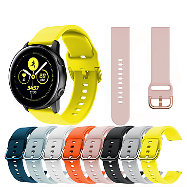 cheap Watch Bands for Huawei-20MM/22MM Silicone Watchbands Strap For Huawei Watch GT2 46mm/42MM / Honor MagicWatch 2 42mm/46mm/ Huawei Watch2 pro/Huawei Watch2 /Huawei Watch GT 2e