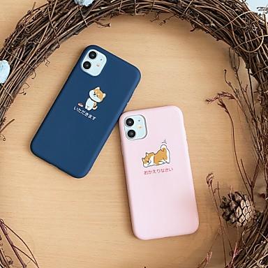 Недорогие Кейсы для iPhone-чехол для яблока iphone7 8 7 плюс 8 плюс xr xs xsmax x se 11 11pro 11promax шаблон задняя крышка собака животное тпу