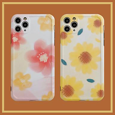 Недорогие Кейсы для iPhone-чехол для яблока iphone7 8 7plus 8plus xr xs xsmax x se 11 11pro 11promax шаблон задняя крышка цветок тпу pc