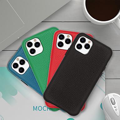 Недорогие Кейсы для iPhone-чехол для apple iphone 6 6s 6p 6sp iphone 7 7p 8 8p iphone x iphone iphone xs iphone xr iphone xs max iphone 11 iphone 11 pro iphone 11 pro max рисунок задняя крышка сплошная цветная натуральная кожа