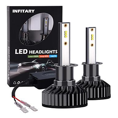 ieftine Faruri-INFITARY 2pcs H1 Mașină Becuri LED Frontală Pentru Παγκόσμιο