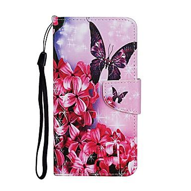 Недорогие Кейсы для iPhone-чехол для apple iphone se 2020 iphone 11 pro iphone 11 pro max кошелек с подставкой для всего тела чехлы бабочка искусственная кожа iphone xs max xr x 8 7 плюс 6 6s