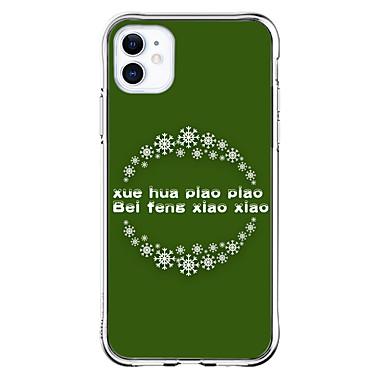 Недорогие Кейсы для iPhone-чехол для apple iphone 11 11 pro 11 pro max xs xr xs max 8 плюс 7 плюс 6 s плюс 8 7 6 6 s se 5 5s прозрачный xuehuapiaopiao шаблон противоударная задняя крышка мягкий тпу