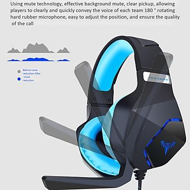 Недорогие Наушники для геймеров-Litbest G600 игровая гарнитура USB и 3,5 мм аудио кабель с встроенным микрофоном управления для компьютера PC PS4 Xbox