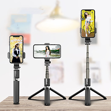 cheap Phone Holder-Selfie Stick Wireless Bluetooth Selfie Tripod Foldable Handheld Monopod Tripod With Shutter Iphone Remote motion camera