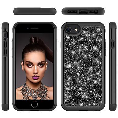 Недорогие Кейсы для iPhone-чехол для apple iphone 6 6s 7 8 6plus 6splus 7plus 8plus x xr xs xsmax se (2020) iphone 11 11pro 11promax противоударный блеск блеск задняя крышка сплошной цветной блеск блеск tpu pc