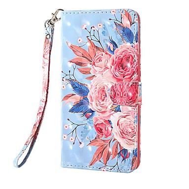 Недорогие Чехлы и кейсы для Nokia-чехол для нокиа нокиа 1.3 нокиа 2.3 нокиа 3.2 держатель карты кошелька с подставкой чехлы для тела цвет цветок искусственная кожа тпу для нокиа 6.2 нокиа 7.2