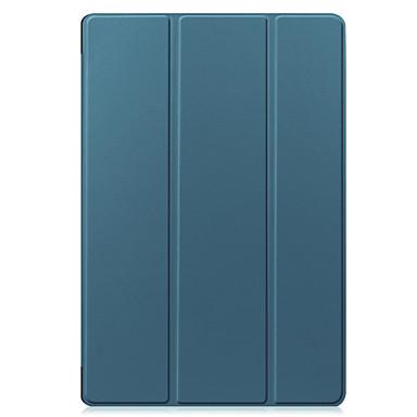 Недорогие Чехлы и кейсы для Lenovo-чехол для lenovo m10 plus tb-x606f lenovo m10 tb-x605f tb-x505f флип чехлы для тела сплошной цвет тпу пк