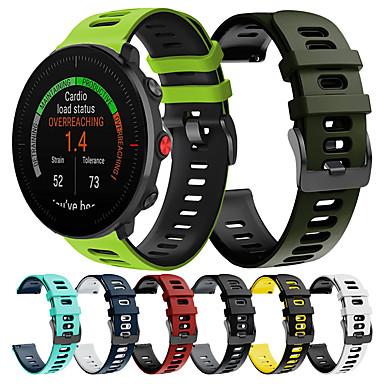 Недорогие Аксессуары для смарт-часов-спортивный силиконовый ремешок для часов для полярных vantage m / grit x / ignite сменный браслет ремешок на запястье браслет
