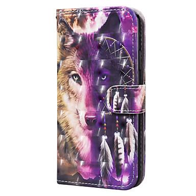 Недорогие Чехлы и кейсы для Huawei-чехол для huawei huawei y6 (2019) honor 10lite p smart 2020 y5p держатель для карты y6p флип-рисунок чехлы для всего тела животное искусственная кожа