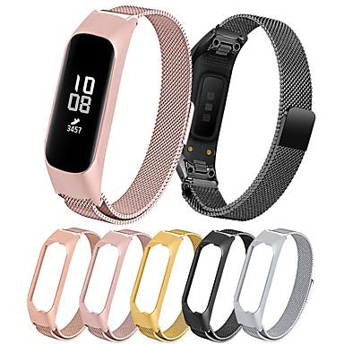 Недорогие Часы для Samsung-Металлическая нержавеющая сталь миланская петля магнитная сетка смотреть браслет ремешок для samsung galaxy fit e sm-r375 фитнес-группа