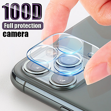 Недорогие Защитные плёнки для экрана iPhone-прозрачная задняя крышка объектива камеры протектор экрана защитное закаленное стекло для iphone 11 pro max / 11/11 pro
