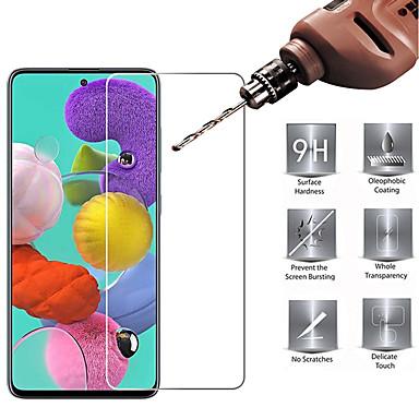 Недорогие Аксессуары для мобильных телефонов-2 шт. Закаленное стекло hd защитная пленка для экрана для samsung galaxy a01 a11 a21 a31 a41 a51 a71 a81 a91 a10 a20 a30 a30s a40 a40s a50 a50s a70 закаленное стекло