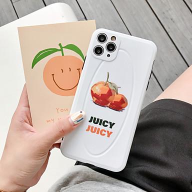 Недорогие Кейсы для iPhone-чехол для apple iphone 7 8 7plus 8plus x xr xs xsmax se (2020) iphone 11 11pro 11promax противоударный узор задняя крышка еда слово фраза мультфильм тпу