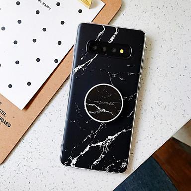 Недорогие Чехол Samsung-чехол для samsung galaxy note 10 note 10 pro note 10 plus a10 m10 a20 a30 a50 a30s a50s с подставкой задняя крышка с матовым рисунком мрамор тпу