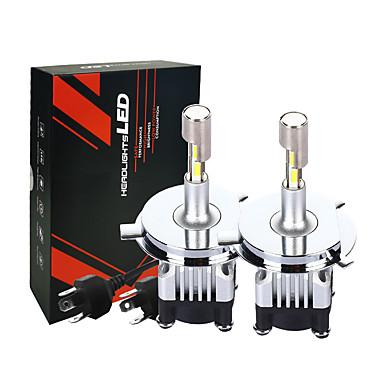 Недорогие Автомобильные фары-наименьший размер регулируемые светодиодные автомобильные фары автомобильные лампы 3500lm h4 30 Вт светодиодные супер яркость лампочки автомобиля