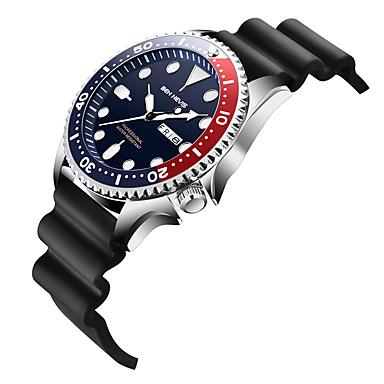 Недорогие Мужские часы-BEN NEVIS Муж. Спортивные часы Кварцевый Современный Спортивные На каждый день Защита от влаги силиконовый Черный Аналоговый - Черный Синий