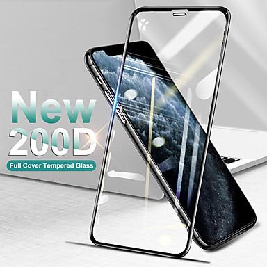 お買い得  iPhone 用スクリーンプロテクター-湾曲したフルカバー保護ガラス、iPhone SE 11 Pro Max X XS強化スクリーンプロテクターiPhone XR 8 7 Plusガラス
