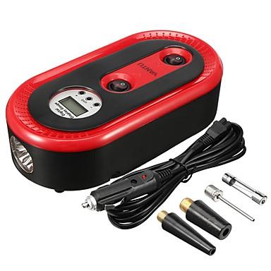 Недорогие Аварийные инструменты-A01 12v автомобильный надувной насос для шин 120 Вт портативный автоматический воздушный компрессор цифровой накачка шин для автомобильного велосипедного мяча