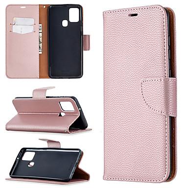 Недорогие Чехол Samsung-чехол для samsung galaxy s9 s9 plus a6 2018 a6 plus 2018 a7 2018 держатель для карт флип чехол для всего тела однотонная искусственная кожа