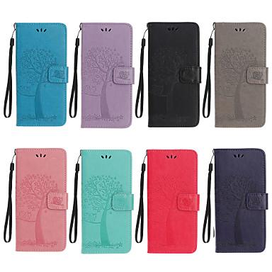 Недорогие Чехлы и кейсы для Sony-чехол для sony l1 xz xzs xa1 xa2 xz2 xz3 xperia 10 xperia 5 l4 узор магнитный полный корпус чехлы сплошной цвет из искусственной кожи