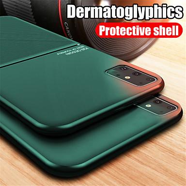 Недорогие Чехол Samsung-магнитный автомобильный чехол для телефона samsung galaxy s20 s20 plus s20 ультра магнитная пластина противоударный гибридный силикон s10 s10e s10 plus s9 s9 plus note10 note 10 plus a10 a20 a30 a50