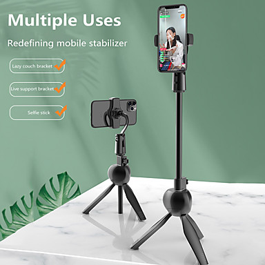 cheap Phone Holder-Wireless Bluetooth Selfie Stick Foldable Mini Tripod Expandable Monopod With Remote Control For IOS Android For Samsung HuaWei XiaoMi