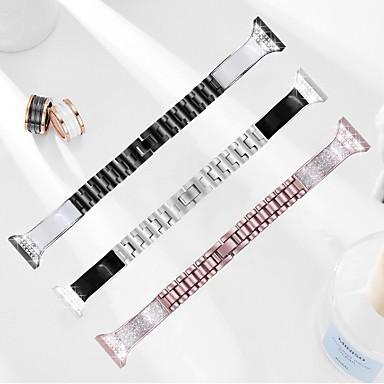 Недорогие Аксессуары для смарт-часов-Ремешок для часов для Samsung Galaxy Watch 46 Samsung Бизнес группа Керамика Повязка на запястье
