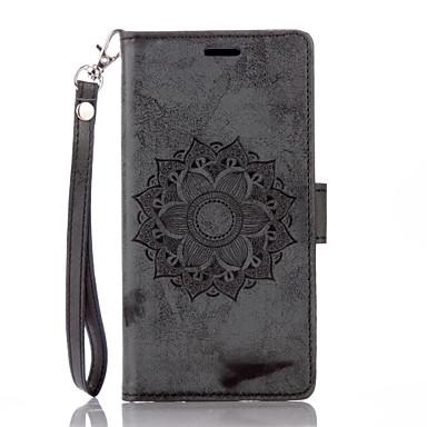 Недорогие Чехлы и кейсы для LG-чехол для LG G 3 4 флип магнитные чехлы для всего тела цветок искусственная кожа