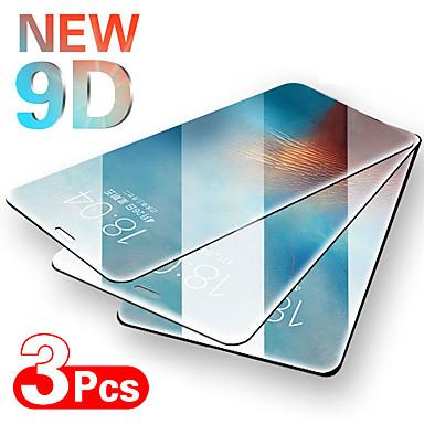hesapli iPhone Ekran Koruyucuları-3 adet tam kapak koruyucu cam iphone se 6 6 s 7 8 artı temperli cam film için iphone x xs xr 11 11 pro max ekran cam