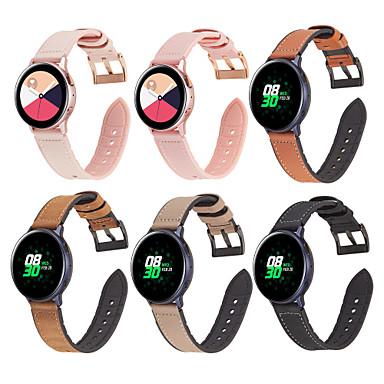 Недорогие Аксессуары для смарт-часов-Ремешок для часов для Samsung Gear S3 Samsung Бизнес группа Стеганная ПУ кожа Повязка на запястье