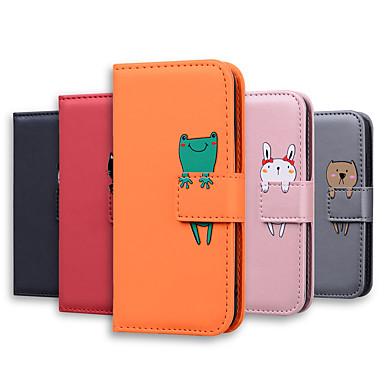 cheap Xiaomi Case-Case For Xiaomi Xiaomi Redmi Note 9s 9 Pro Max 9 Pro 9 8 Pro 8 7 8T Xiaomi Redmi K30 Pro K30 K20 7A 8A Xiaomi Note 10 10Pro CC9 Pro Card Holder Flip Full Body Cases Solid Colored Cartoon PU Leather