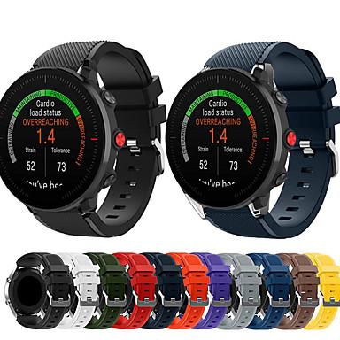 Недорогие Аксессуары для смарт-часов-спортивный силиконовый ремешок для часов для полярных vantage m / grit x сменный браслет ремешок на запястье браслет