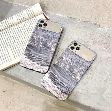 Недорогие Кейсы для iPhone-чехол для apple iphone 7 8 7plus 8plus xr xs xsmax x se (2020) 11 11pro 11promax зеркальный узор задняя крышка тпу декорации озеро блеск