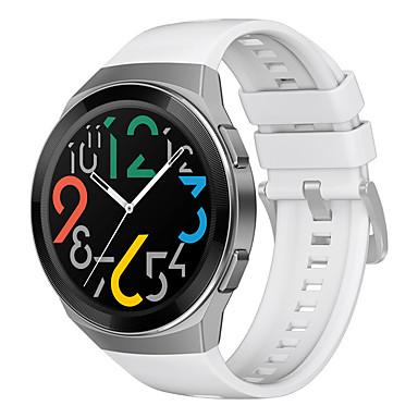 ราคาถูก สายนาฬิกาสำหรับ Huawei-สายนาฬิกาสำหรับนาฬิกา huawei gt 2e huawei สายกีฬา / สายรัดข้อมือซิลิโคนแบบคลาสสิกสายนาฬิกาเดิม