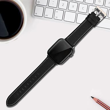 Недорогие Ремешки для Apple Watch-Ремешок для часов серии Apple Watch 5/4/3/2/1 Apple, кожаная петля, стеганый силиконовый ремешок из искусственной кожи