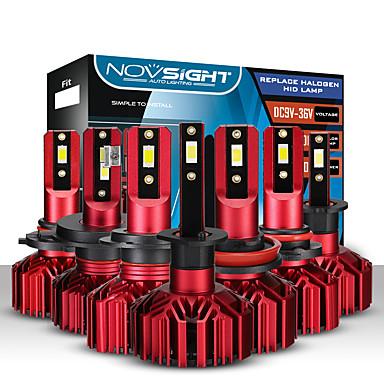 ieftine Faruri de Mașină-Becuri pentru faruri cu mașină Novsight 2bucuri a500-n11 h1-h3-h4-h7-h11-9005-9006 10000lm (5000lm / bec) 60w (30w / bec)
