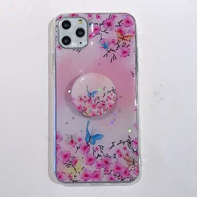 Недорогие Кейсы для iPhone-чехол для apple iphone 7 8 7 plus 8 plus x xs xr xs max se 11 11 pro 11 pro max с рисунком подставки задняя крышка цвет градиент мультфильм цветок тпу