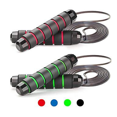 baratos Cordas de Pular-Pular corda / corda de salto Esportes PP EVA Fitness Treino de Ginástica Calorias Queimadas Para Unisexo