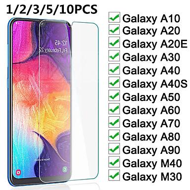 Недорогие Аксессуары для мобильных телефонов-защитное стекло на samsung galaxy a10 a20 a30 a40 a50 a60 a70 a80 a90 a20e a40s m20 m30 m40 экран закаленное стекло пленка