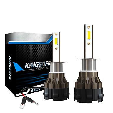 tanie Światła samochodowe-2 sztuk LED 6000 lm mini żarówki samochodowe do reflektorów K2-9005-9006-H1-H7-H11 lampy samochodowe 6000 K IP68 wodoodporne