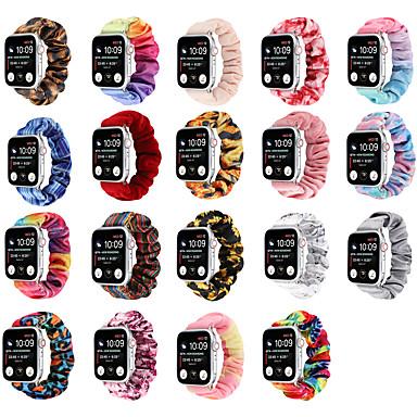 Недорогие Ремешки для Apple Watch-Ремешок для часов для Серия Apple Watch 5/4/3/2/1 Apple Инструменты сделай-сам Нейлон Повязка на запястье